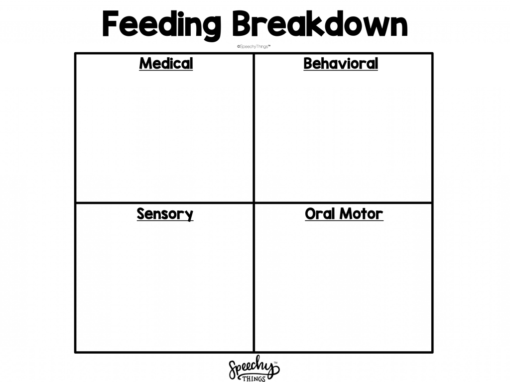 image of feeding therapy parent handout