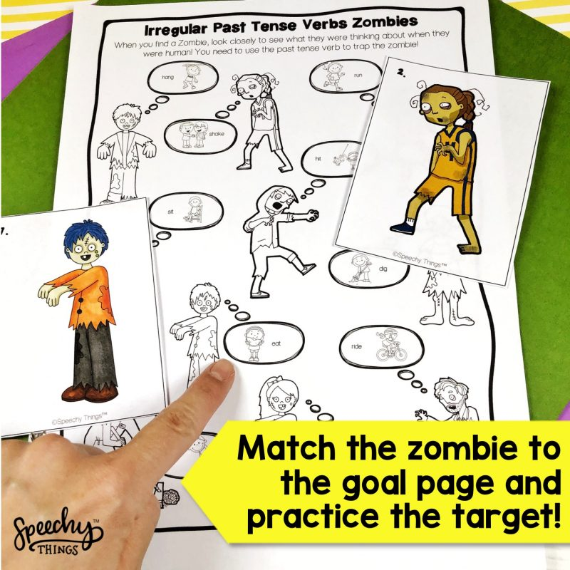 Speech therapy language activities and games.