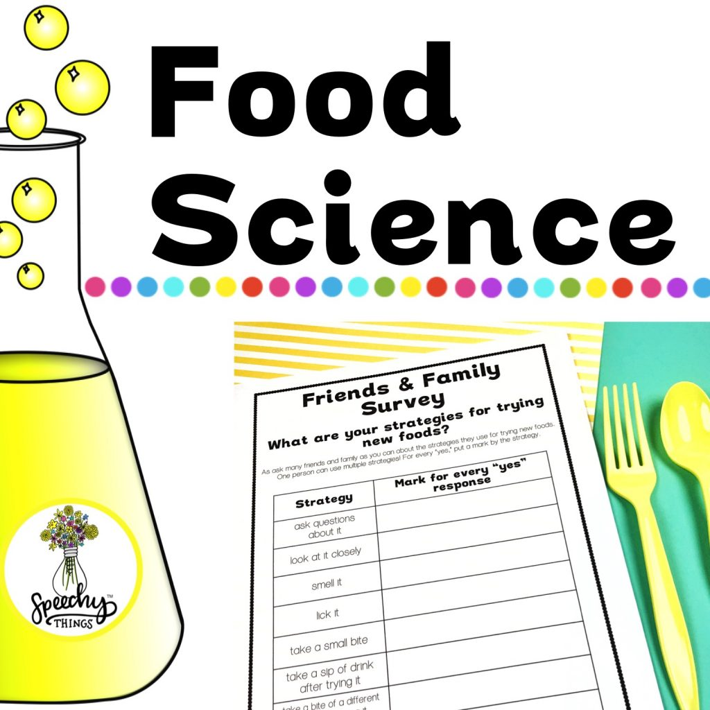 image of Food Science Sensory Feeding Therapy Activities