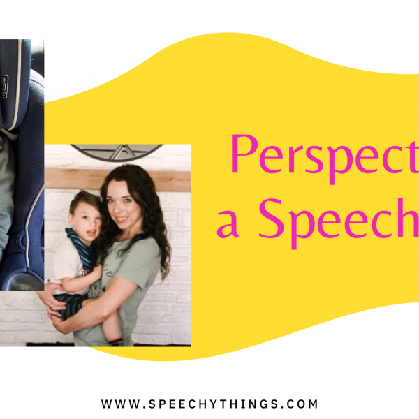 speech therapy mom's perspective