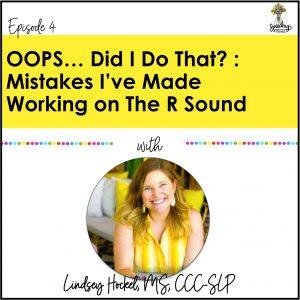 speech therapy r sound podcast